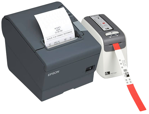 Receipt and Wristband Printers